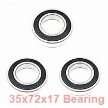 35 mm x 72 mm x 17 mm  ISB SS 6207 deep groove ball bearings