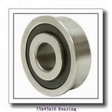 45 mm x 75 mm x 16 mm  SKF S7009 CB/HCP4A angular contact ball bearings