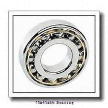 45 mm x 75 mm x 16 mm  SKF 7009 ACB/HCP4A angular contact ball bearings