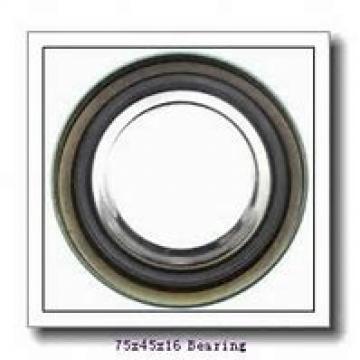 45 mm x 75 mm x 16 mm  SKF 7009 CD/HCP4AH angular contact ball bearings