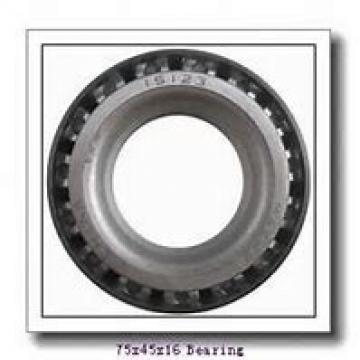 45 mm x 75 mm x 16 mm  SKF 7009 CE/P4A angular contact ball bearings