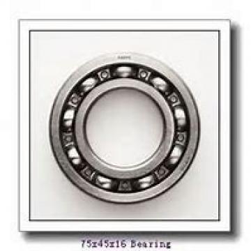 45 mm x 75 mm x 16 mm  SKF 7009 ACB/HCP4AL angular contact ball bearings