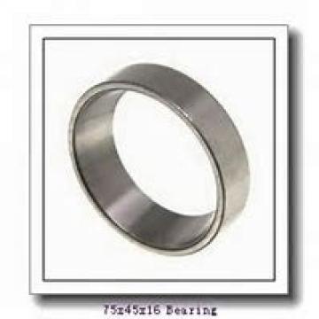 45 mm x 75 mm x 16 mm  SKF S7009 CD/P4A angular contact ball bearings