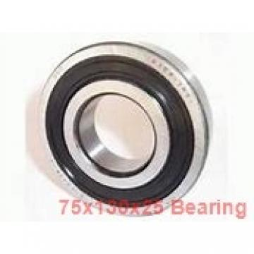 75 mm x 130 mm x 25 mm  SIGMA 7215-B angular contact ball bearings