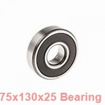 75 mm x 130 mm x 25 mm  Loyal 7215C angular contact ball bearings