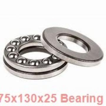 75 mm x 130 mm x 25 mm  NACHI 1215 self aligning ball bearings