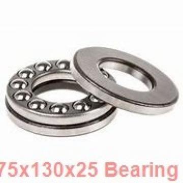 75 mm x 130 mm x 25 mm  NACHI NU 215 E cylindrical roller bearings