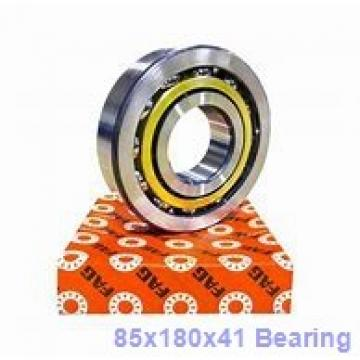 85 mm x 180 mm x 41 mm  FAG 7317-B-JP angular contact ball bearings