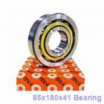85 mm x 180 mm x 41 mm  Loyal 7317 C angular contact ball bearings