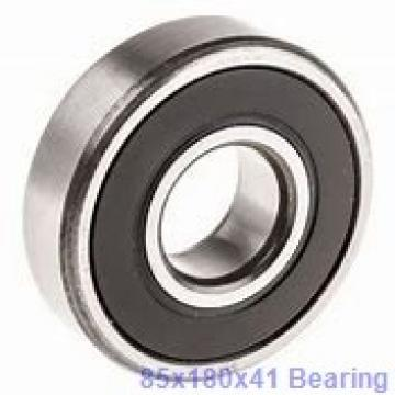85 mm x 180 mm x 41 mm  Loyal NJ317 cylindrical roller bearings