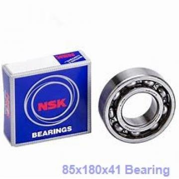 85 mm x 180 mm x 41 mm  Loyal 7317AC angular contact ball bearings