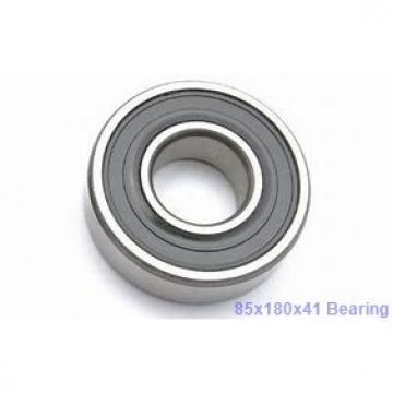 85 mm x 180 mm x 41 mm  Timken 7317WN angular contact ball bearings