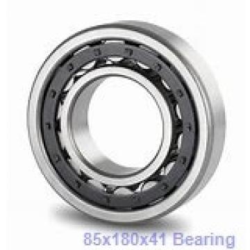 85 mm x 180 mm x 41 mm  NACHI 7317DF angular contact ball bearings