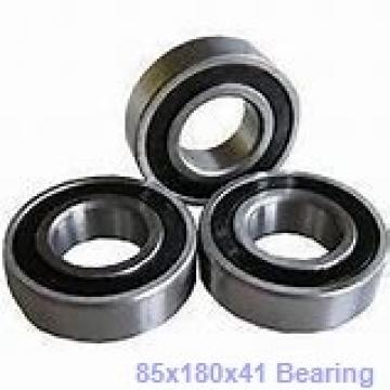 85 mm x 180 mm x 41 mm  Timken 317W deep groove ball bearings