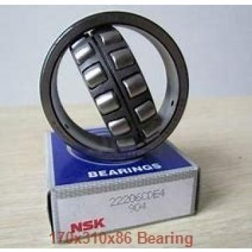 170 mm x 310 mm x 86 mm  ISO NH2234 cylindrical roller bearings