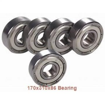 170 mm x 310 mm x 86 mm  NACHI NU 2234 cylindrical roller bearings