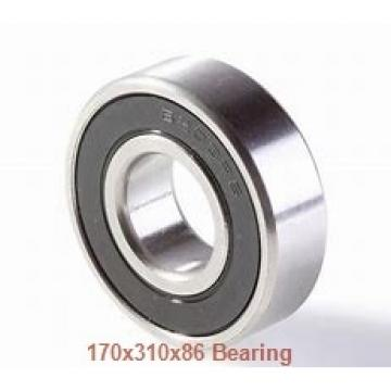 170 mm x 310 mm x 86 mm  ISO NU2234 cylindrical roller bearings