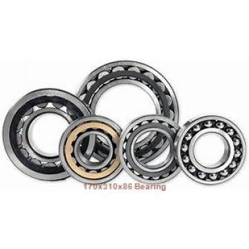 170 mm x 310 mm x 86 mm  Loyal 22234 KCW33+H3134 spherical roller bearings