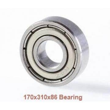 170 mm x 310 mm x 86 mm  ISO N2234 cylindrical roller bearings