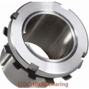 170 mm x 310 mm x 86 mm  NACHI 22234E cylindrical roller bearings