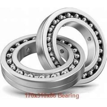 170 mm x 310 mm x 86 mm  NKE 22234-K-MB-W33+H3134 spherical roller bearings