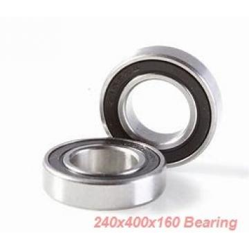 240 mm x 400 mm x 160 mm  KOYO 24148RHAK30 spherical roller bearings
