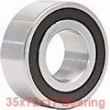 35 mm x 72 mm x 17 mm  Fersa 6207 deep groove ball bearings