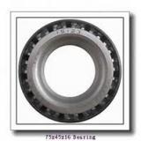 45 mm x 75 mm x 16 mm  SKF S7009 FW/HC angular contact ball bearings