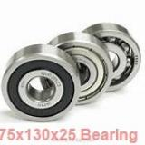 75 mm x 130 mm x 25 mm  NSK 1215 self aligning ball bearings
