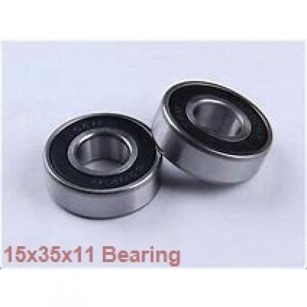 15 mm x 35 mm x 11 mm  NACHI 7202CDB angular contact ball bearings #1 image