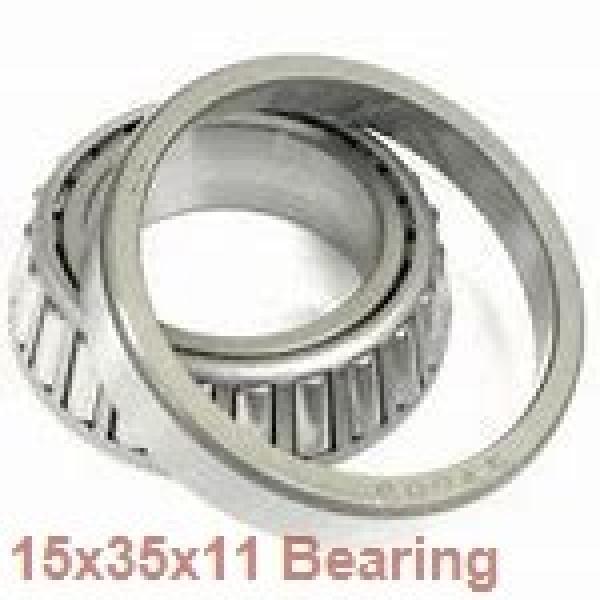 15 mm x 35 mm x 11 mm  NTN 7202CGD2/GLP4 angular contact ball bearings #1 image