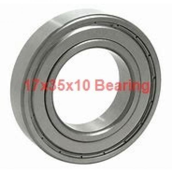 17 mm x 35 mm x 10 mm  NTN 7003DT angular contact ball bearings #2 image