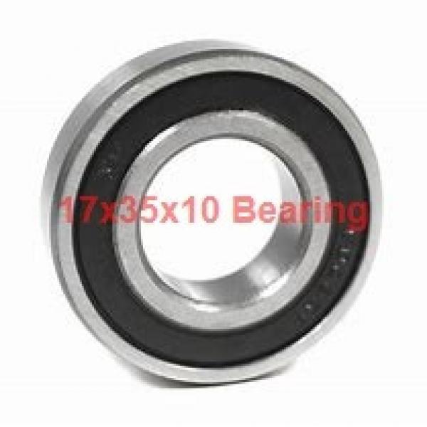17 mm x 35 mm x 10 mm  NTN 7003DT angular contact ball bearings #1 image