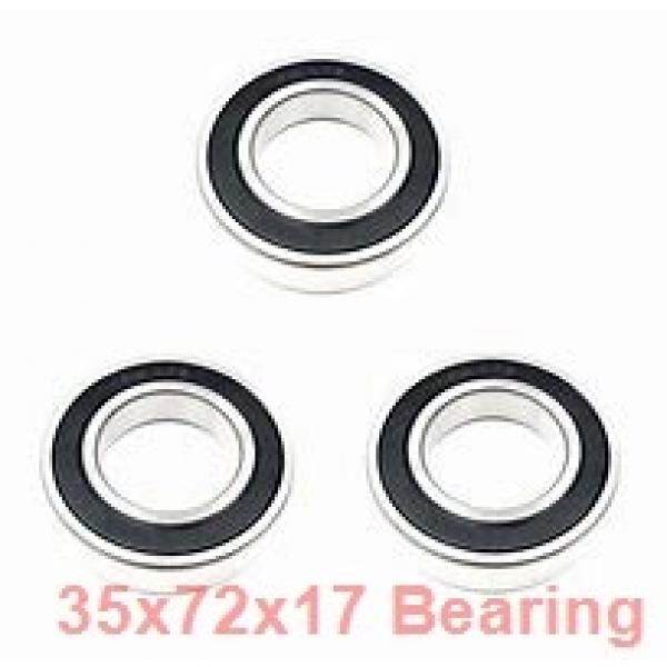 35 mm x 72 mm x 17 mm  FAG 7207-B-2RS-TVP angular contact ball bearings #2 image