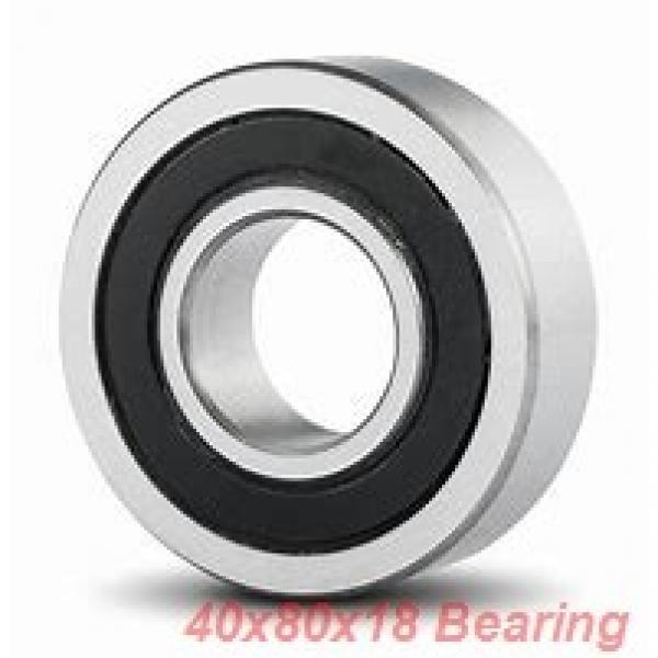 40 mm x 80 mm x 18 mm  ISB 6208-ZZNR deep groove ball bearings #2 image