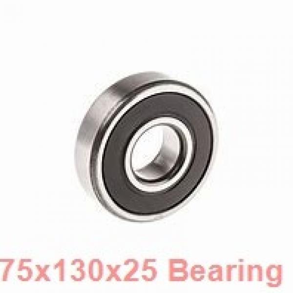 75 mm x 130 mm x 25 mm  ZEN S6215 deep groove ball bearings #1 image
